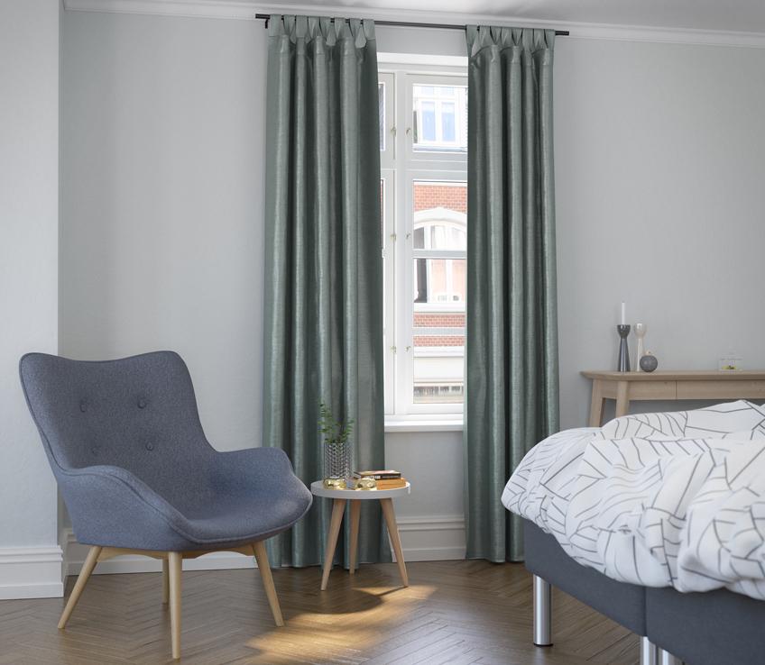 Ypperlig Skab den rette stemning med gardiner eller persienner | JYSK YI-77