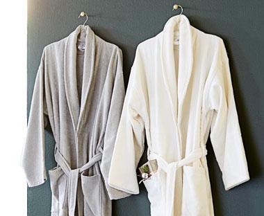 Modernistisk Bløde badekåber - stort udvalg til damer og herrer | JYSK IV75