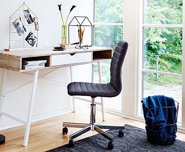 Godt Kontorstole - God komfort i hverdagen - Se det flotte udvalg | JYSK HH96