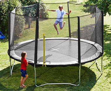 Godt Trampoliner – Køb ny trampolin, sikkerhedsnet og stige   JYSK QS05