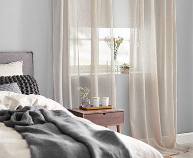 grå gardiner inspiration