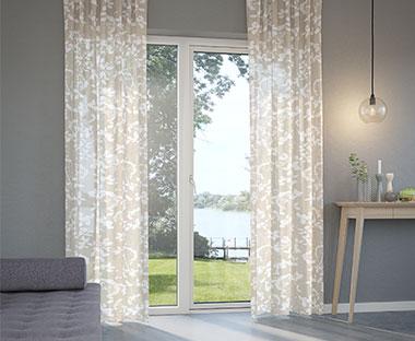Utmerket Færdigsyede gardiner - Se vores store udvalg af gardiner │JYSK VB-63