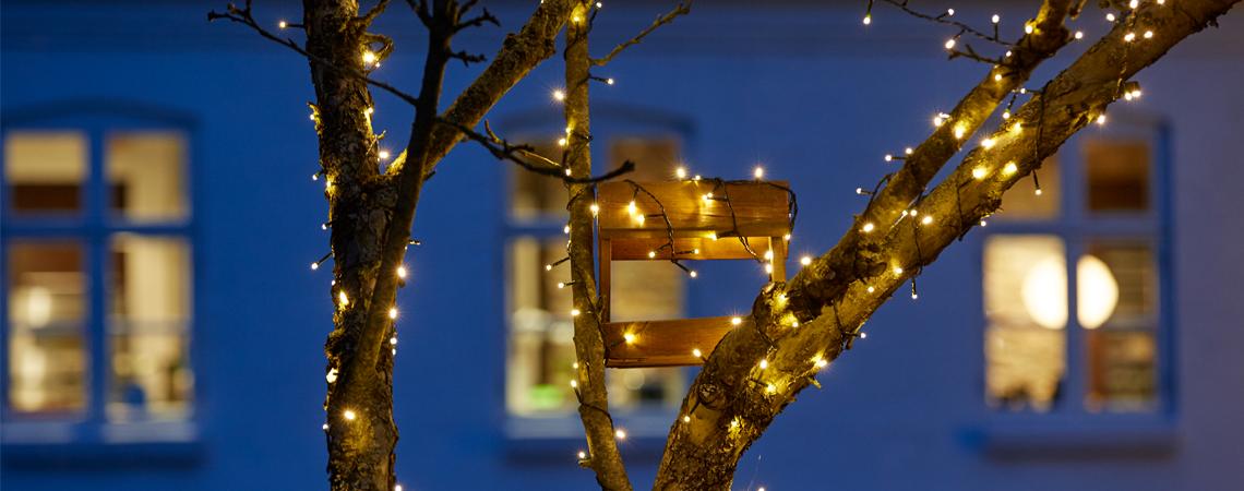 Utroligt Udendørs julebelysning - Få 9 gode tips om udendørs julelys   JYSK MR47