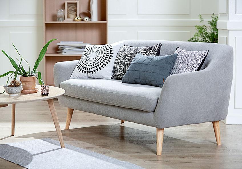 Smarte ressurser Indretning af aflang stue: Få idéer til den smalle stue | JYSK QR-82