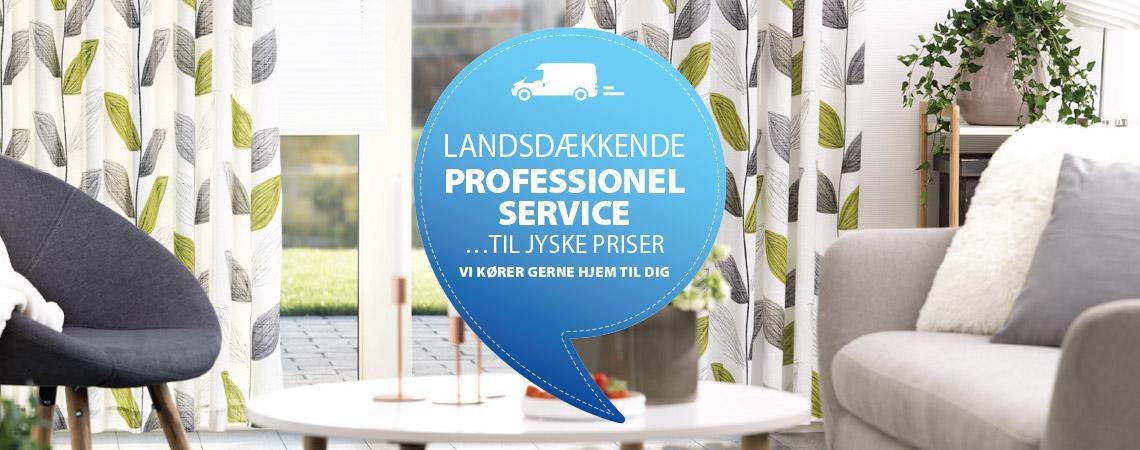 Seneste Guide til opsætning af gardiner og lamelgardiner | JYSK WO71