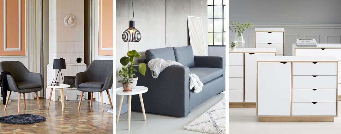 Tips til dit nye hjem billige møbler til stuen | JYSK