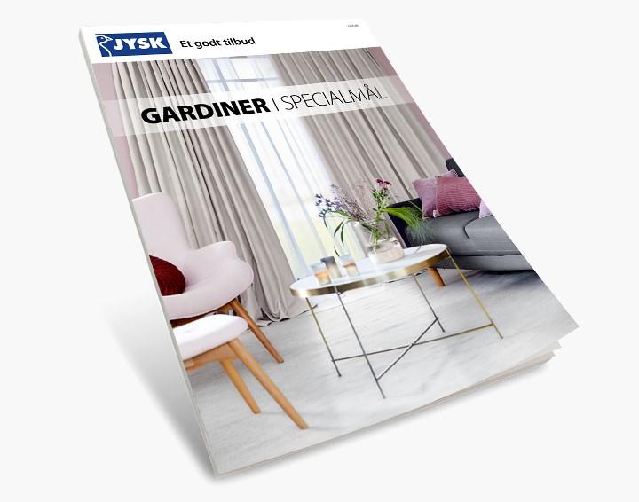 Storslått Gardiner efter mål til gode priser - bestil online hos os | JYSK FL-65